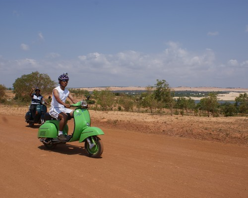 Vespa adventure tour - Phan Rang