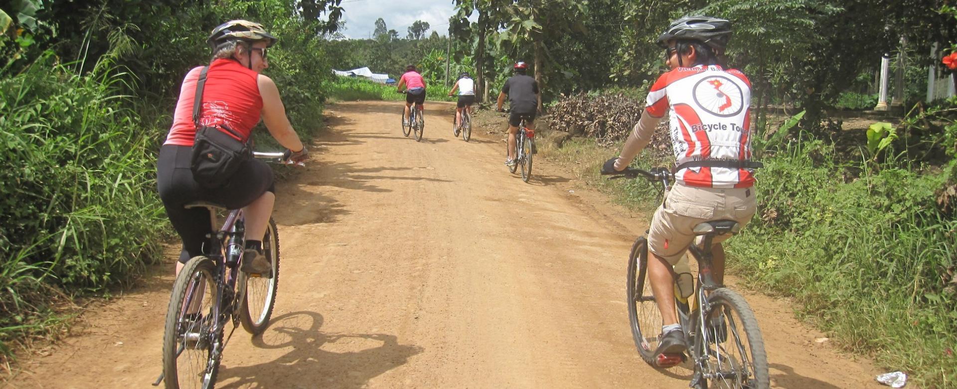 Biking 2 days/1 night to Nam Cat Tien park
