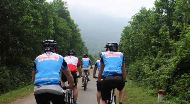 Cycling on Ho Chi Minh Trais - Ke Sanh - A Luoi - Hue - Saigon
