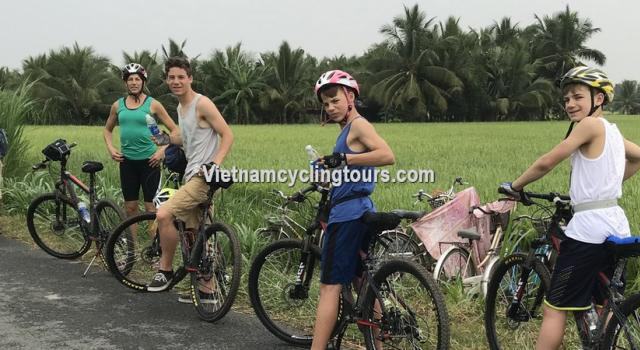 Cycling Mekong Delta - Cai Be