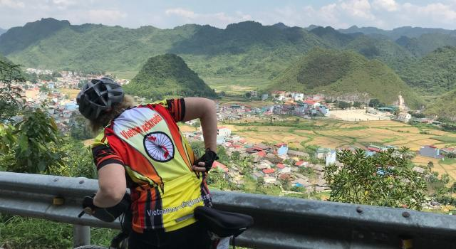 Cycling Northwest and Far East loops of Vietnam